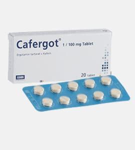 Cafergot (Caffeine/Ergotamine)