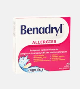 Benadryl (Diphenhydramine)