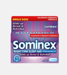 Sominex (Diphenhydramine)