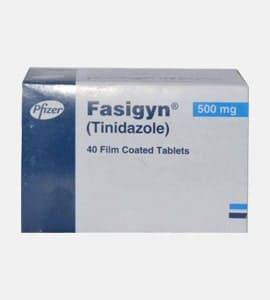 Fasigyn (Tinidazole)